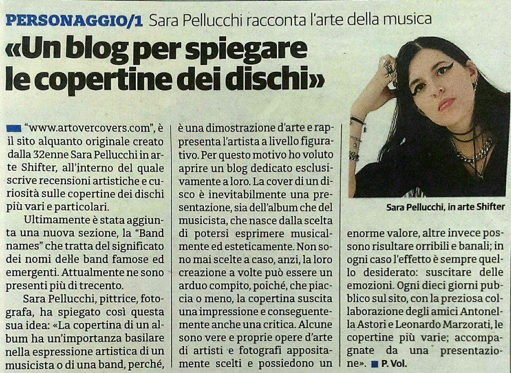 Articolo Il Cittadino 27-02-2016