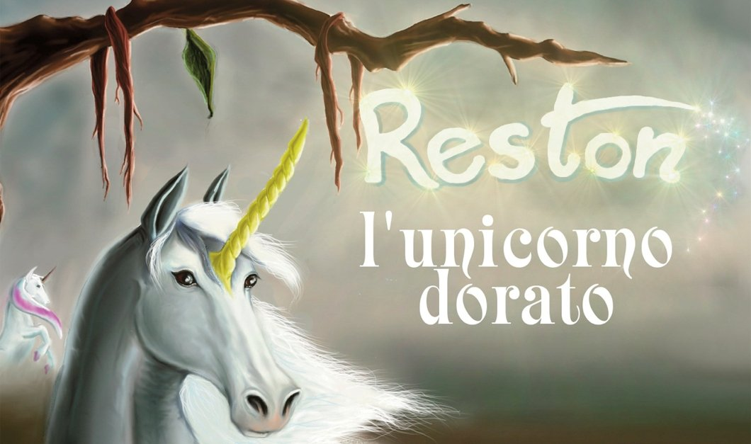 """""""Reston L'Unicorno Dorato"""" – Milena Ziletti"""
