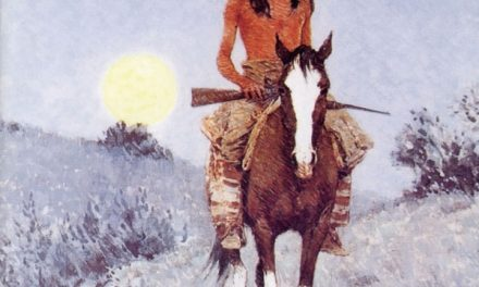 Il dipinto dell'indiano nella copertina di Fabrizio De André