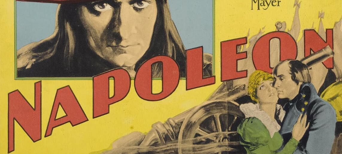 Napoleone secondo Abel Gance: il primo grande biopic in locandina