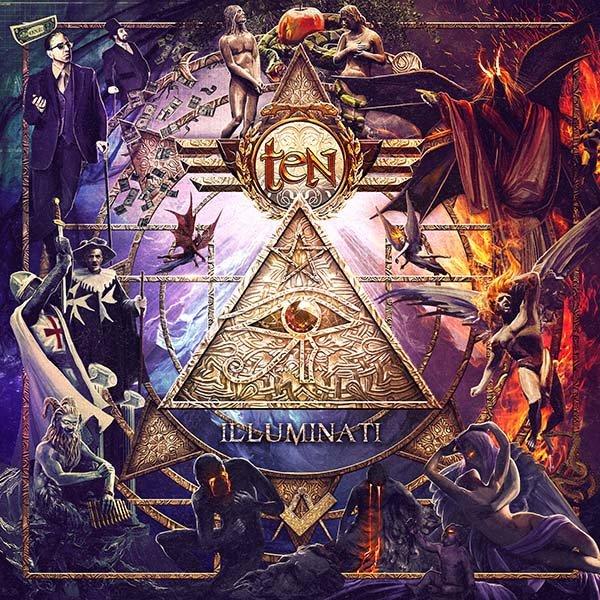 "Simbologie egizie, cavalieri templari e disegni massonici ""illuminati"" nella cover dei TEN"