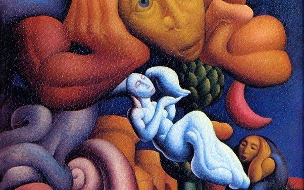 """Una copertina tra l'opera d'arte e sogno: """"Uomo di Pezza"""" – Le Orme"""