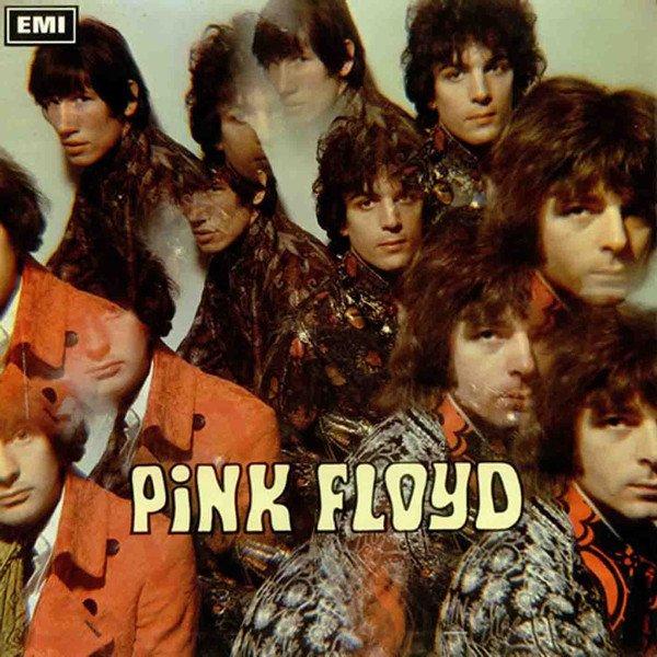 """I Pink Floyd e il loro primo """"viaggio"""" luminoso attraverso una lente."""