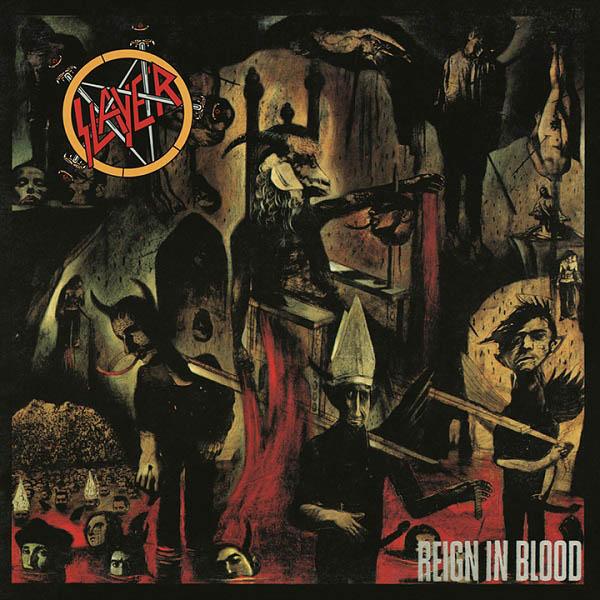 """Un viaggio all'Inferno con Hieronymus Bosch, Dante e gli Slayer nella copertina di """"Reign in Blood"""""""