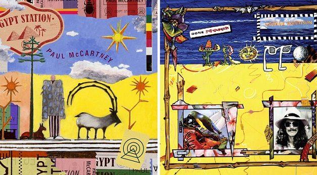 Similitudini: Paul McCartney e George Harrison