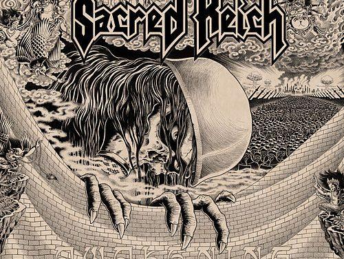 """Nella copertina di """"Awakening"""" i Sacred Reich tra protesta e misticismo induista"""
