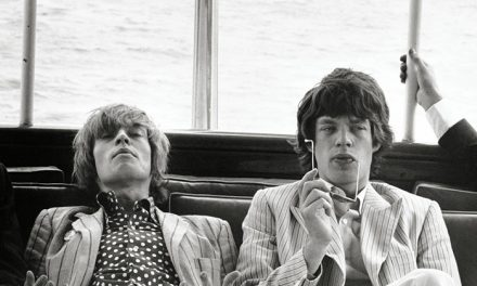 Brian Jones e Mick Jagger