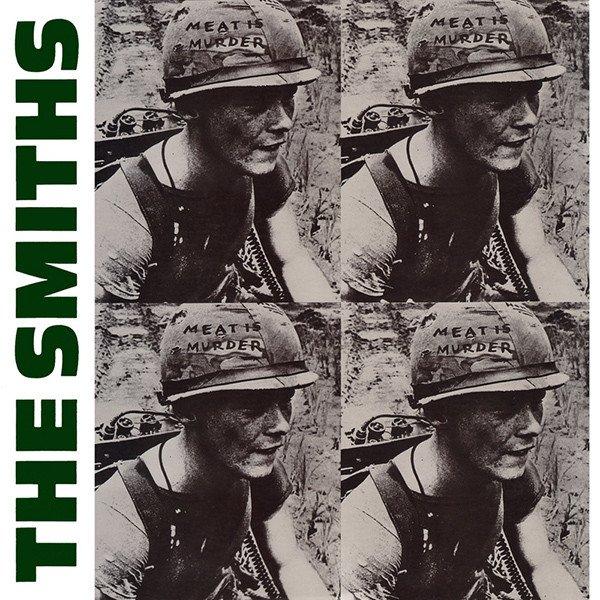 """""""Meat is Murder"""" – The Smiths: la militanza animalista di Morrissey su copertina."""