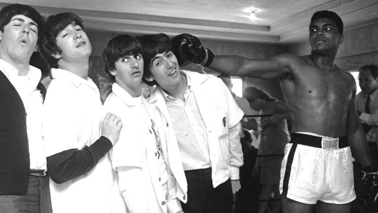 The Beatles e Cassius Clay