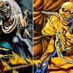 "Derek Riggs e i simboli ricorrenti nelle copertine degli Iron Maiden. ""The Number of the Beast"" e ""Piece of Mind"""