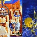 """Derek Riggs e i simboli ricorrenti nelle copertine degli Iron Maiden. """"Powerslave"""" e """"Live After Death"""""""