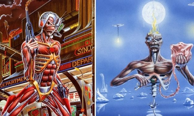 "Derek Riggs e i simboli ricorrenti nelle copertine degli Iron Maiden. ""Somewhere in Time"" e ""Seventh Son Of A Seventh Son"""