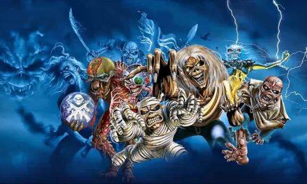 La storia di Eddie the Head nelle copertine dei singoli degli Iron Maiden disegnate da Derek Riggs