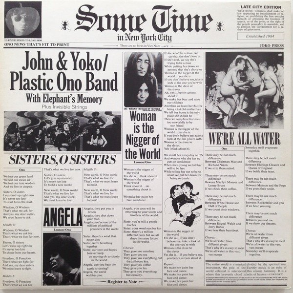 "John Lennon vs. The US: ""Some Time in New York City"""