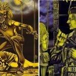 """La storia di Eddie nelle copertine dei singoli degli Iron Maiden: """"Sanctuary"""" e """"Women in Uniform"""""""