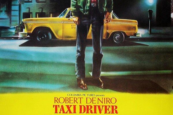 """""""Taxi Driver"""" e l'iconico poster per l'interpretazione più enigmatica di Robert De Niro"""