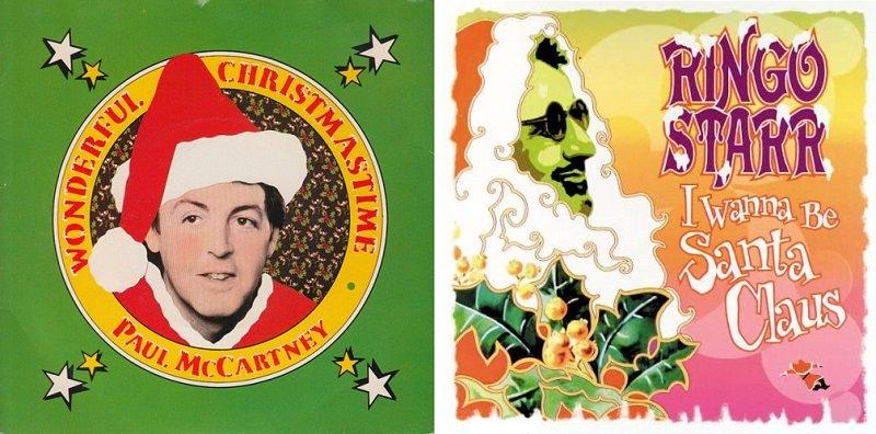 """""""Wonderful Christmastime"""" e """"I Wanna Be Santa Claus"""""""