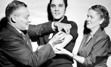 Elvis Presley si vaccina in diretta TV