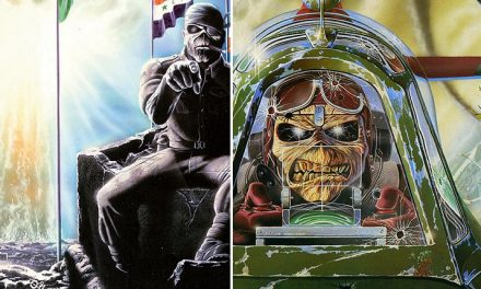 "La storia di Eddie the Head nelle copertine dei singoli degli Iron Maiden: ""Two Minutes to Midnight"" e ""Aces High"""