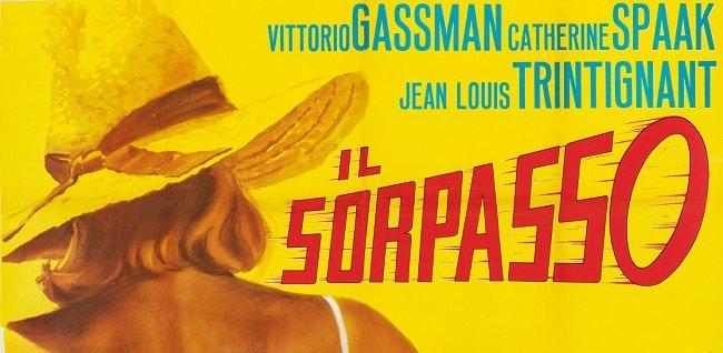 """""""Il Sorpasso"""" di Dino Risi: gli Anni'60 a bordo di una Lancia Aurelia."""