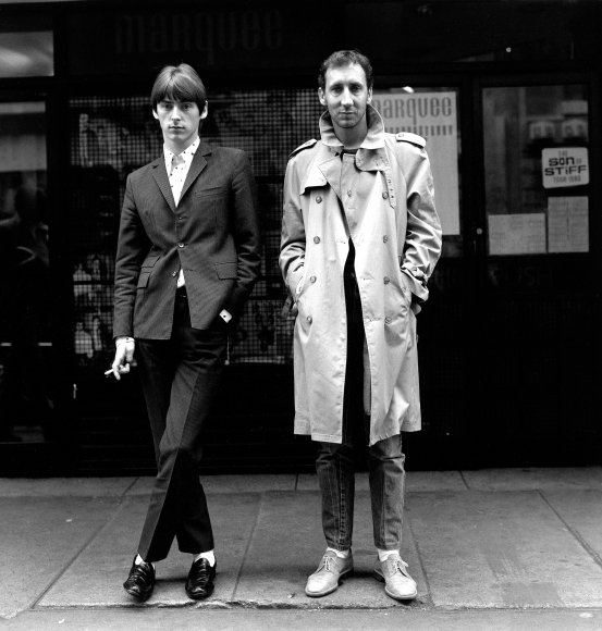 Paul Weller e Pete Townshend