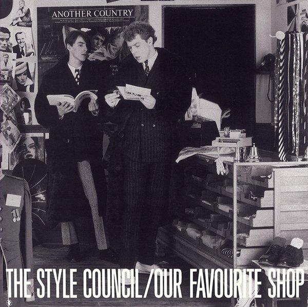 """La copertina di """"Our Favourite Shop"""": l'immaginario degli Style Council in vendita"""