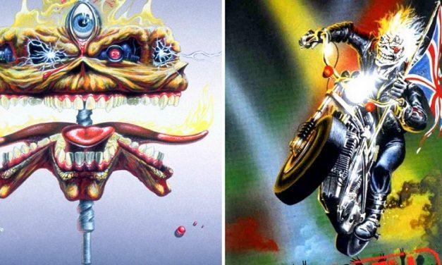 """La storia di Eddie the Head nelle copertine dei singoli degli Iron Maiden: """"The Clairvoyant"""" e """"Infinite Dreams"""""""