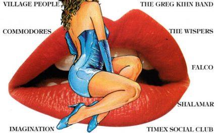 """""""'80 Voglia Disco Party"""" e la ragazza immagine in stile Milo Manara"""