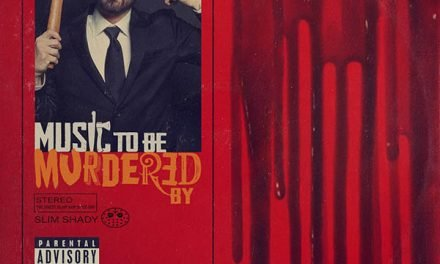 """Eminem loves Alfred Hitchcock: una posa per due in """"Music to Be Murdered By"""""""